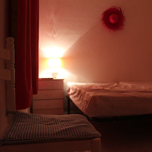 Спальня в конце коридора для двоих
